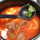 Braised Wagyu Beef Tomato Soup Noodle