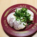 Roasted Pork With Green Onion Sushi