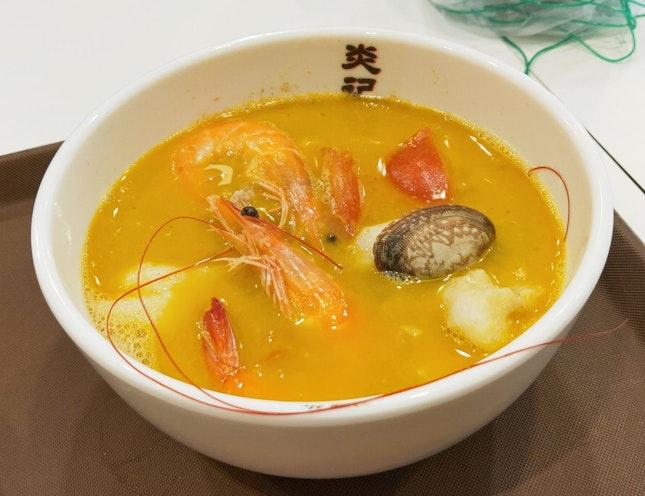 Dory Seafood Soup