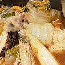 Chicken Meatball & Pork Spicy Nabe