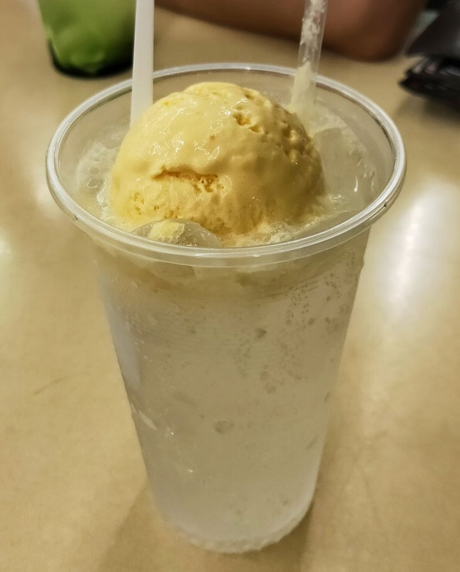 Sprite With Mango Ice Cream