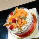 Hokkaido Cantaloupe Cake