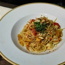 Spicy Crabmeat Capellini