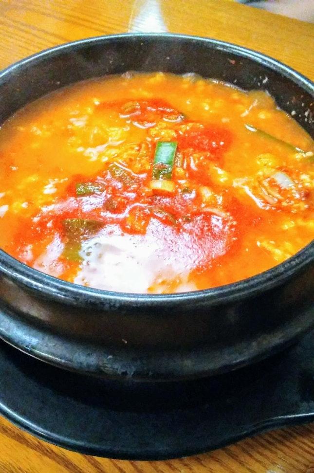 Spicy Sundubu
