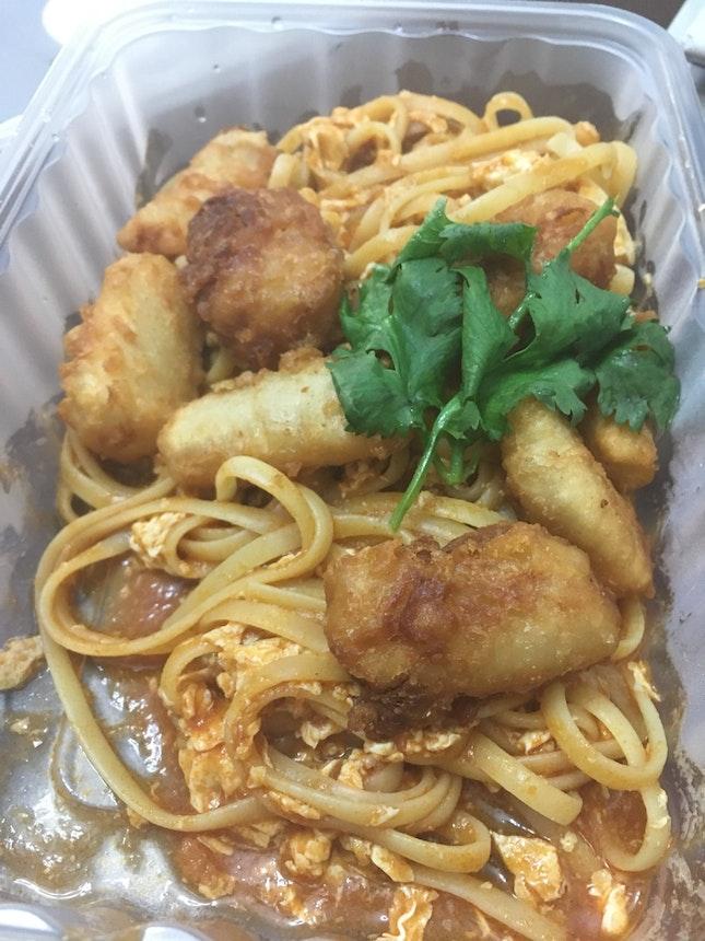 Spicy Fish Spaghetti
