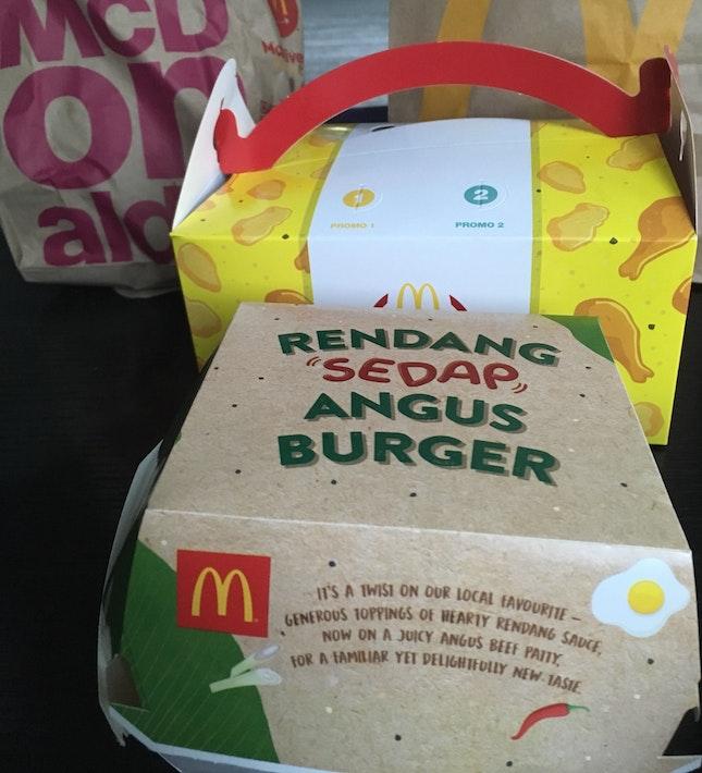 Rendang Burger