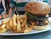 Double Burger With Bacon And Cheese $14.50