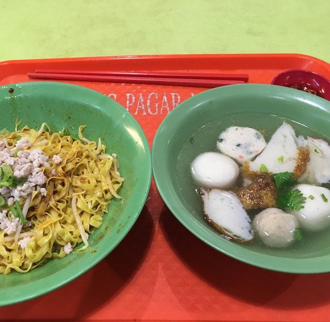 Fishball Noodles $3