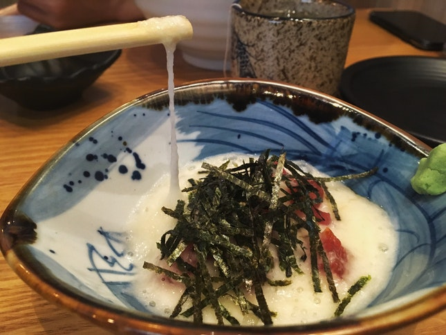 Mountain Yam With Maguro