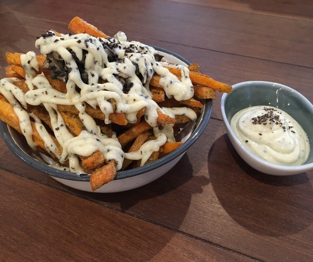 Sweet Potato Truffle Fries