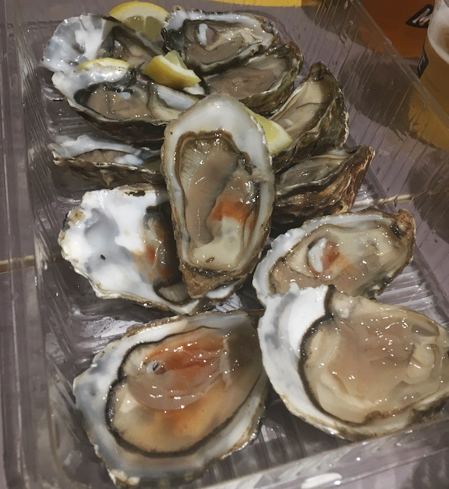 Oysters 6 For $9