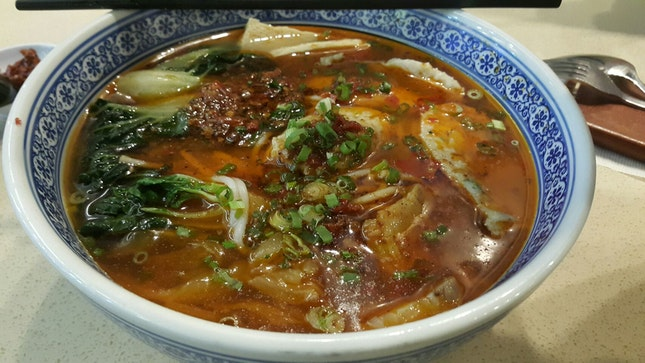 Sichuan Fish Paste Rice Vermicelli