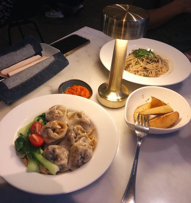 Dumpling Noodles Dry ($11.80)