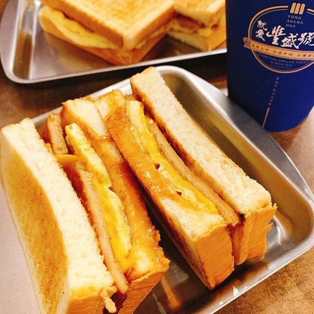✨Fong Sheng Hao 🇸🇬✨⁣ ⁣ Who loves toasted sandwiches?