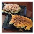 Tamagoyaki & mentaiko gyoza