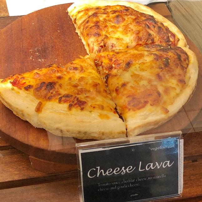Cheese Lava Pizza 🍕