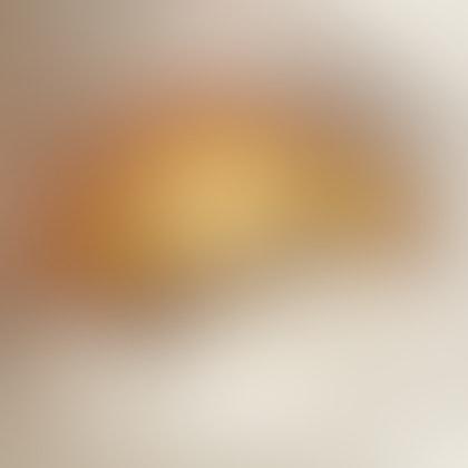 Salted caramel cream puff
