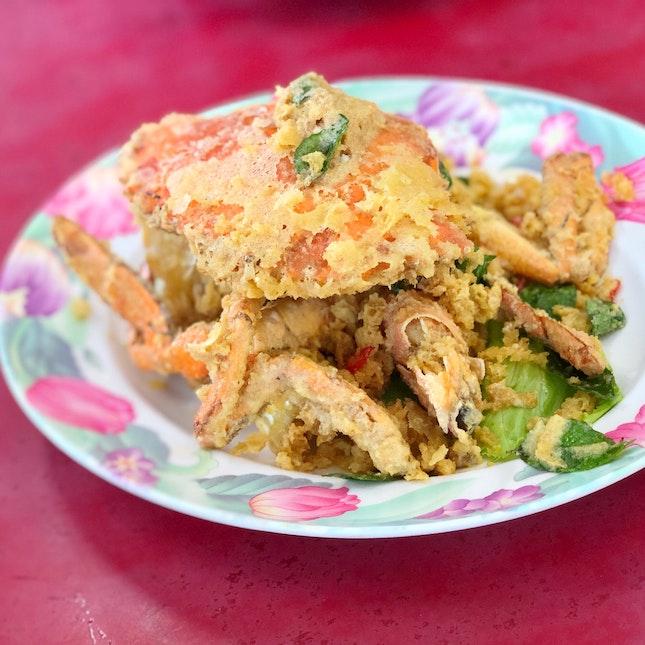 Salted egg yolk crab 🦀