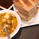 Kaya butter toast set
