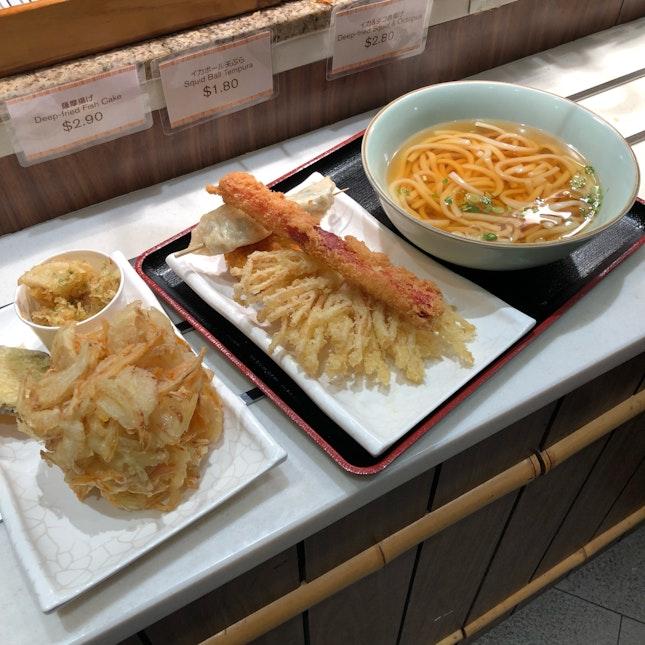 Tempura & Udon