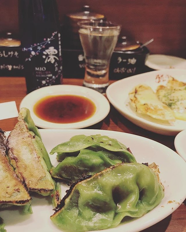 Our second venture to Chao Chao Gyoza, these were my all time fave of all the dumplings I tried there.