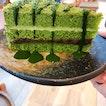 Matcha Cake ($7.80)