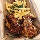 Singapore food hunt 📌 [Bugis, Singapore 🇸🇬]👇🏻#oneadayinSG ——————————————— ✔️ Jinjja Wings Mix Set, S$9.90 .