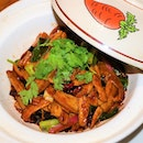 Stir-Fried Pork Belly with Salted Fish, $20