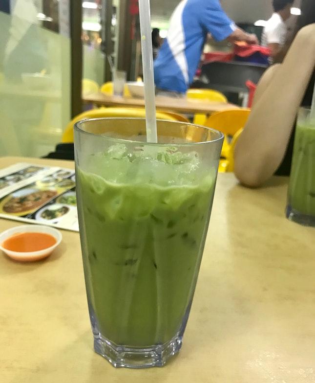 Thai Milk Green Tea ($3)