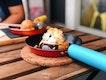 Chocolate Lava Cookie With Banoffee Ice cream
