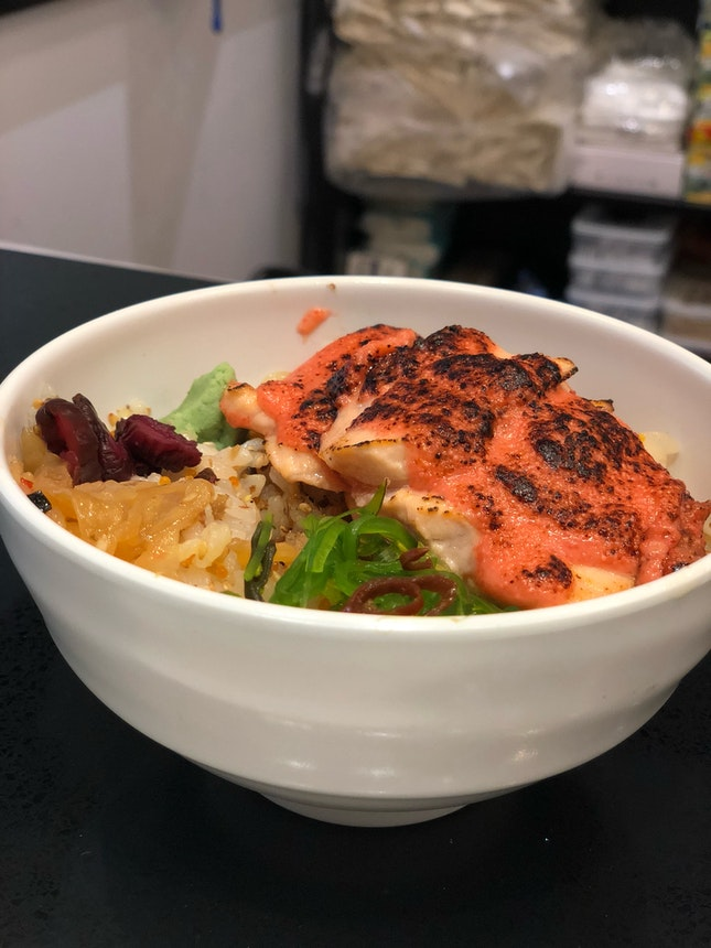 Mentaiko Salmon Chirashi Don ($9.90)