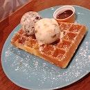 Crispy And Soft Waffles