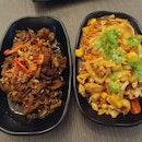 Thai Garlic Beef & Thai S&S Chicken