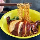 A pretty decent plate of Soy Sauce Chicken Noodles in Jurong!