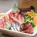Free flow sashimi!