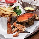 Crabby mid-week with this Whole Grilled Crab at @PinceAndPints!