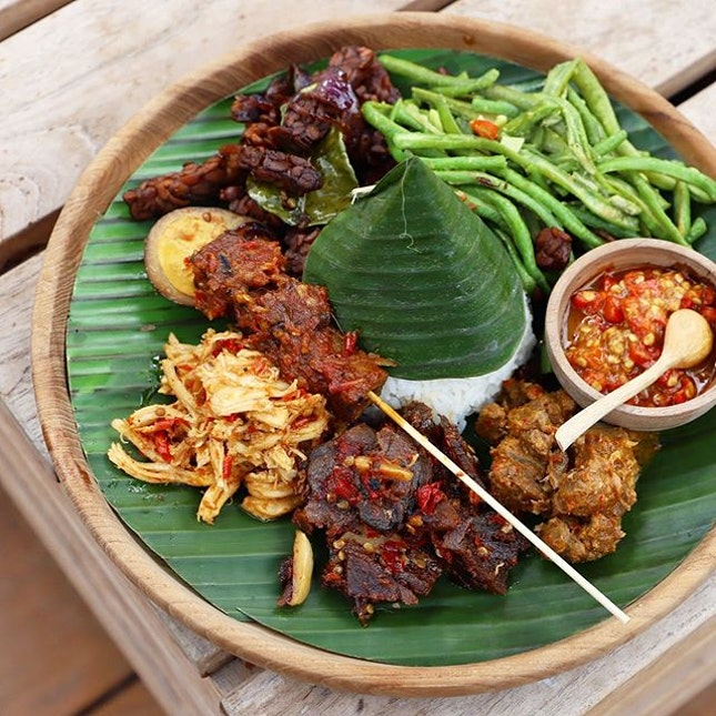 Pretty authentic Balinese flavours from a beach club!