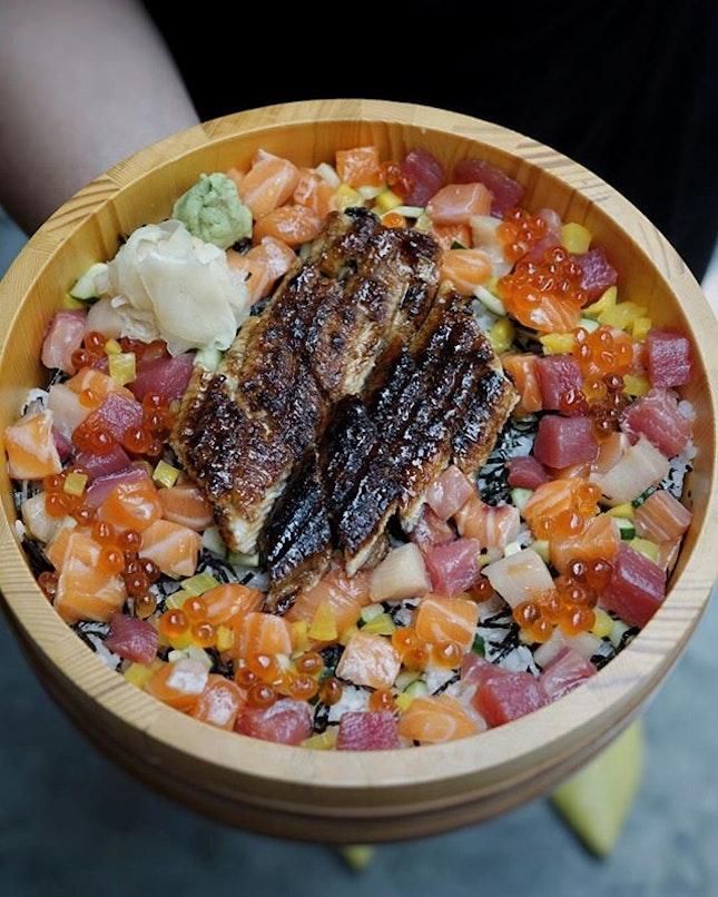 Congratulations to @unagiyaichinojidining @eatat7 for their second outlet at Eat At Seven, Sky Garden @sunteccity.