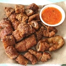 Craving for Fried Pig Intestines.