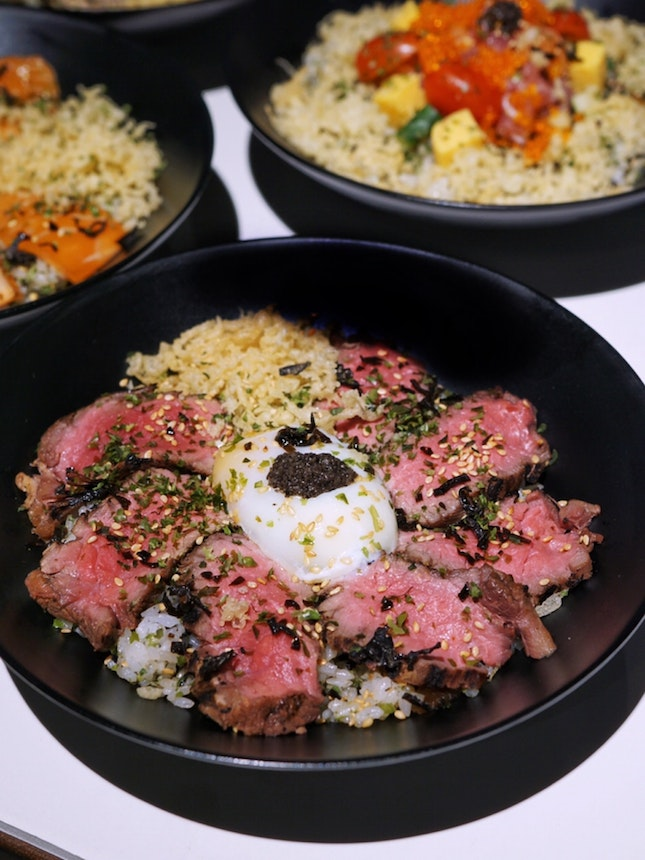 @mofgroup, launched new sets of truffle rice bowls – Kaisen Tei, Kazu Kazu and Tensho, available only Platform M located at SingPost Centre Level 2.