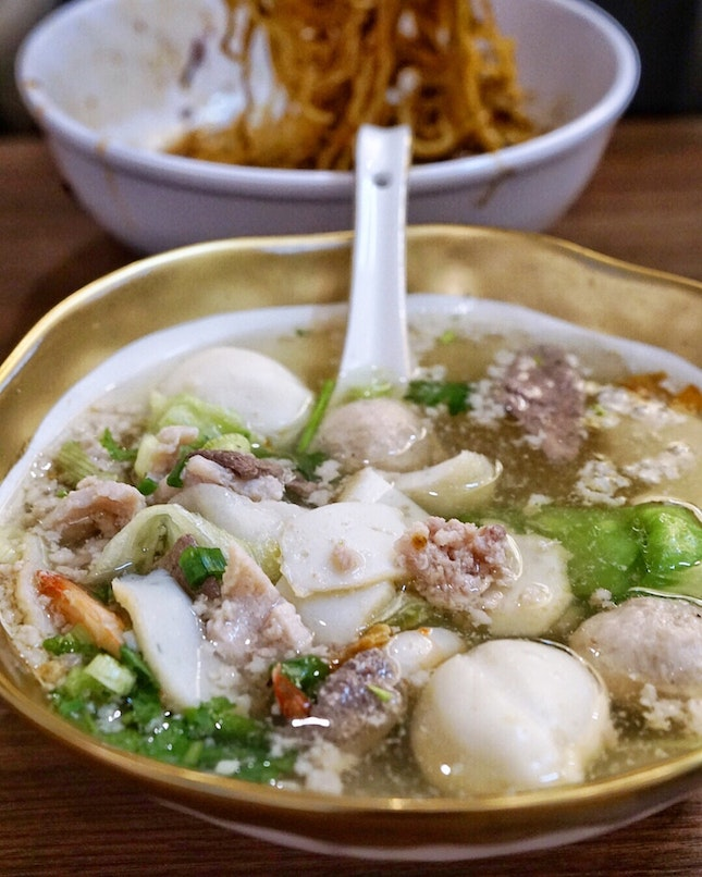 Another list ✅. Ah ter Teochew Fishball Noodle Bar , located at 5 Lor Telok.