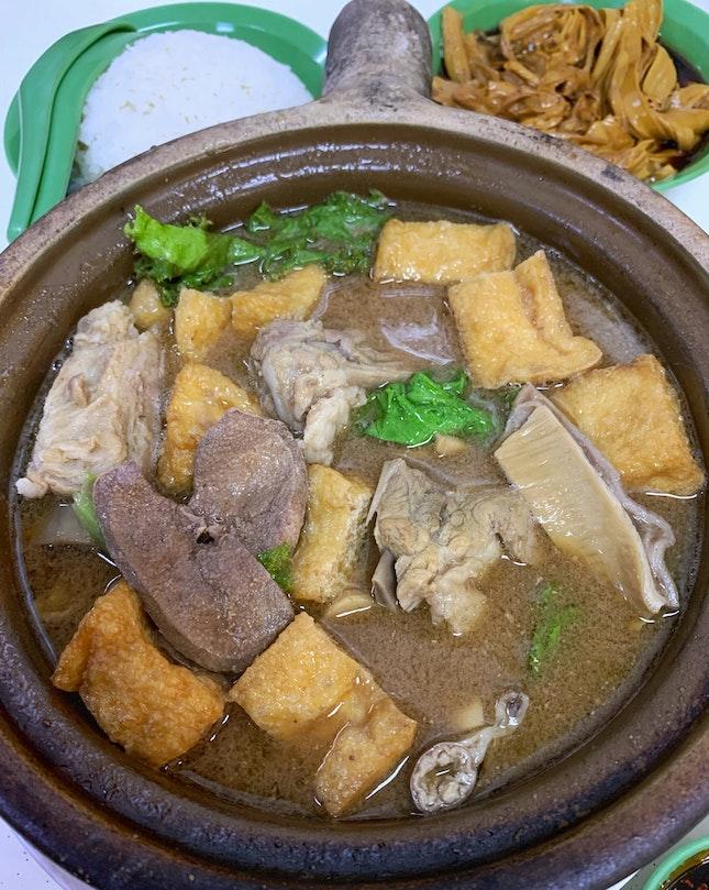 Hong Ji Claypot Bak Kut Teh, located at small Coffeeshop at Marsiling.