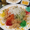 Snow Pear Fire Crackle Yusheng ($38.80 for 4 pax) Not your ordinary Yusheng.