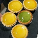 Tea break with egg tart from @taicheongsg.