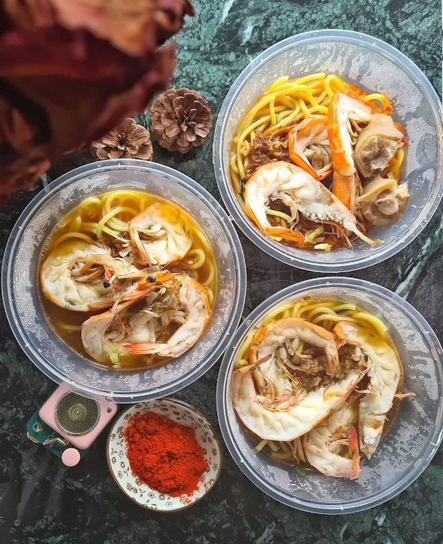 This week, our Group buy is Geylang Prawn Noodle.