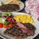 @mediumraresg, Steakhouse served Australian steaks, prepared upon order, with their special original mala and black bean sauce created for customer who's keen to explore.