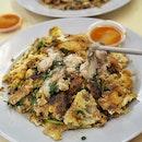 Hougang Oyster Omelette,