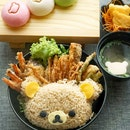 Happy Friday 😊. Welcoming weekend with Rilakkuma  Chill-Out Tendon Set.