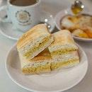First time tried Orange Ciabatta Toast at Good Morning Nanyang Cafe.