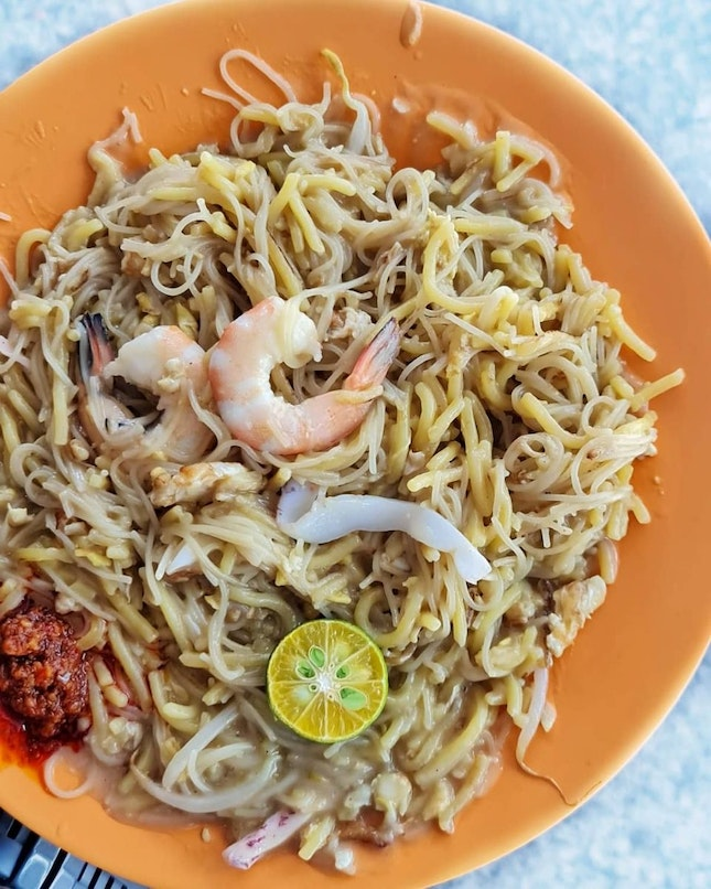 Run some errands at Ang Mo Kio, suddenly craving for Eng Ho Fried Hokkien Mee.